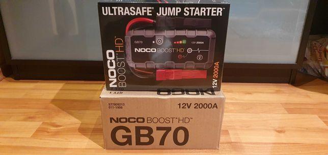 Robot pornire Auto Noco Genius Boost HD GB70  12V- 2000A Sigilat