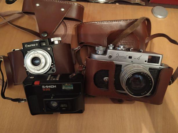 Продам плёночные фотоаппараты, экспанометр