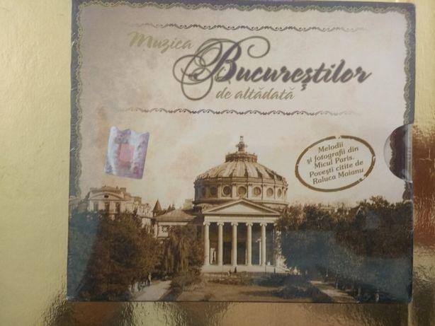 Muzica Bucureștilor de altădată [CD] Ediție de LUX, pentru protocol