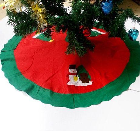 Covoraș de pus sub bradul de Crăciun!