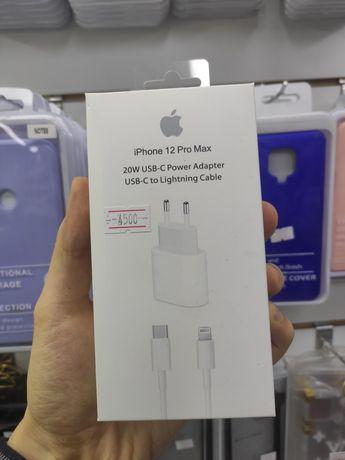 Зарядка комплект 20ВТ/20W Айфон iPhone 12/12 pro/12 pro max/12 mini