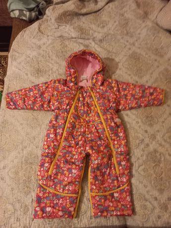 Продам детский комбинезон осень-весна, на девочку