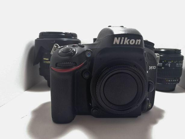 Nikon D610 Full Frame + 1 Obiectiv Nikon 35-70mm, f3.3-4.5