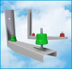 Set amortizor vibratii aer conditionat vibrazerro