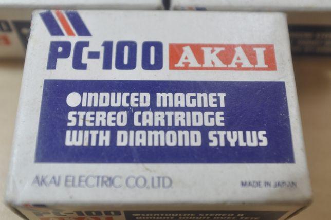 Doza pick-up noua cu ac model Akai PC-100