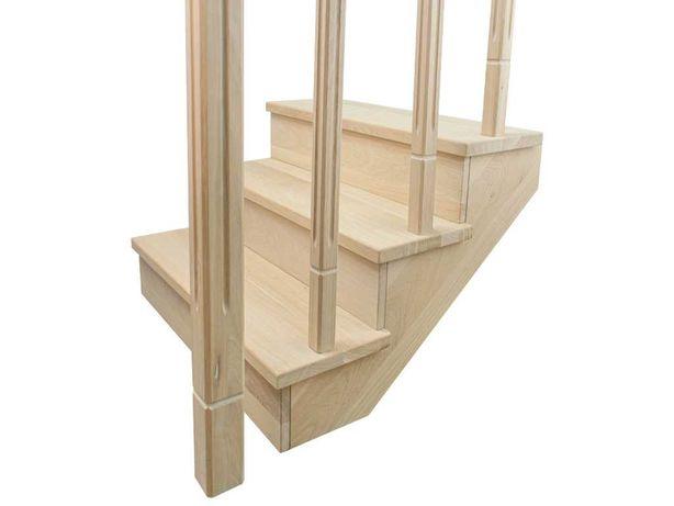 Scari lemn stejar - trepte, contratrepte, balustri, mana curenta