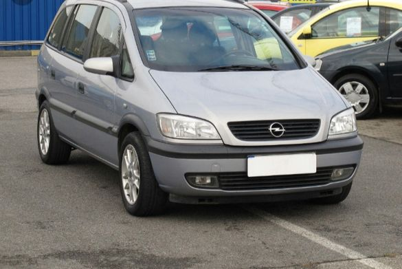 Opel Zafira1.8 I на части