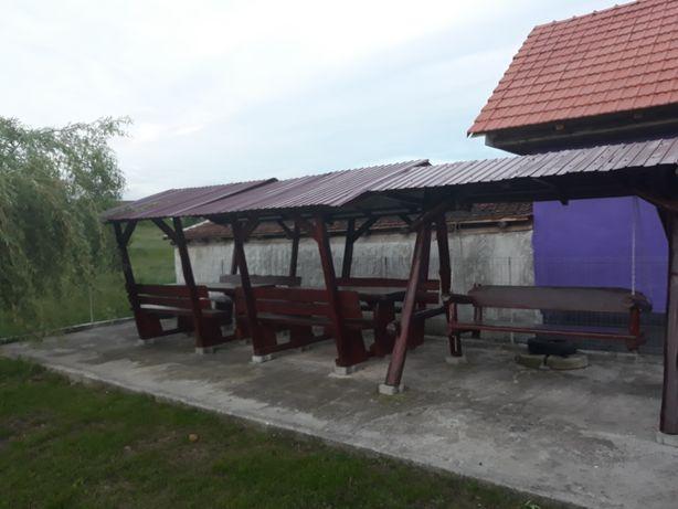 Mobilier de grădină din lemn masiv