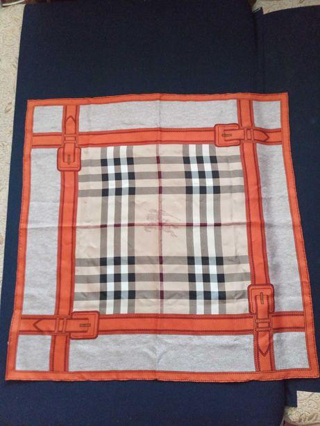 Продам шелковый платок Burberry, оригинал