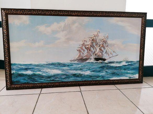 """Картини Репродукции на Монтегю Доусън и други """"Кораби"""""""