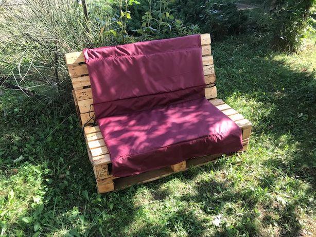 Canapea gradina rustica