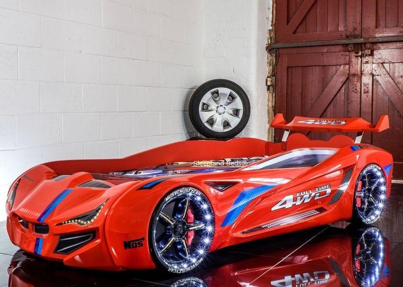 Детско Легло Кола Super Car GTI 1 гр. Бургас - image 1
