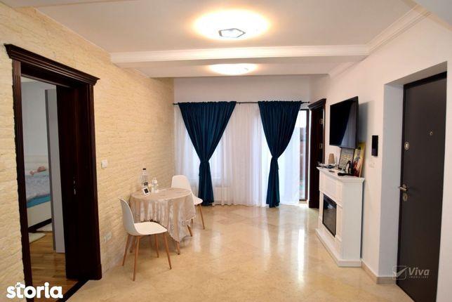 Mini-penthouse de revista, 4 camere, Rediu