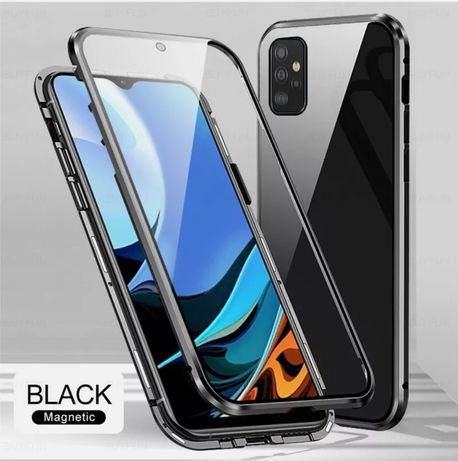 Двоен Магнитен Кейс за Samsung Galaxy A32 4G / 5G A52 / A72 360 градус