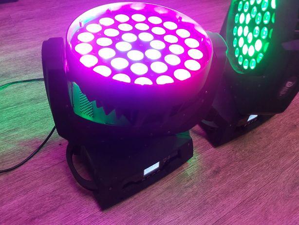 Светомузыка поворотная голова LED WASH