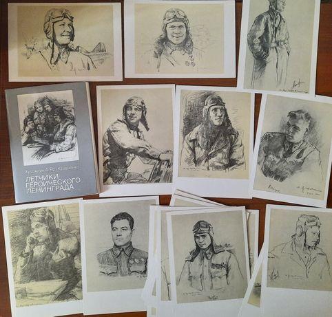 Советские наборы открыток