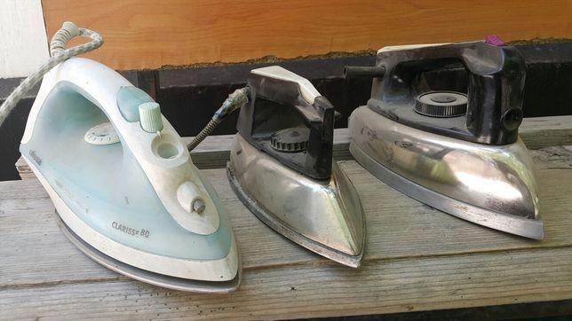 Утюги разные  бывшие  в употребление  в рабочем состоянии