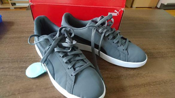 Обувки Пума сиви, 43 Puma Smash v2 Buck Iron Gate - Puma Black EUR 43