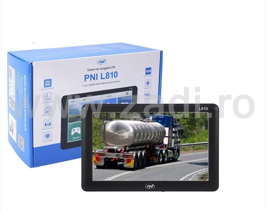 Pni L810-GPS Camion-4 softuri navigare-dedicate tir-vandut de zadi.ro Bistrita - imagine 1