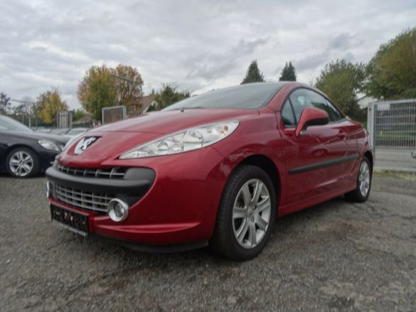 Peugeot 207 cc Cabriolet 1.6 16v 120 ps Пежо 207 кабрио 1.6 16в