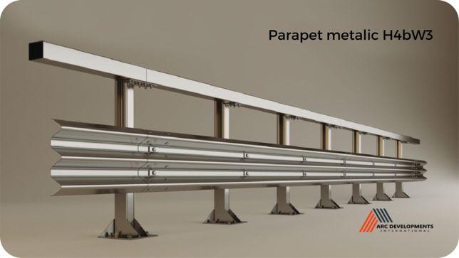 Parapet metalic rutier și pietonal - H4bW3 - H4bW4