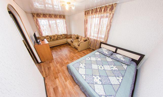 1 Ком. Квартира Посуточно от Vita Haus. Р-н: Кинотеатр Казахстан. WiFi