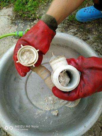Прочистка канализации, чистка труб, чистка канализации, прочистка труб