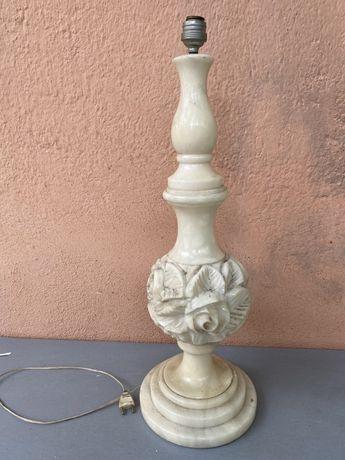 Голяма френска мраморна лампа