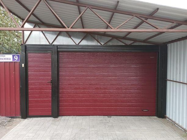 Ворота секционные(гаражные)