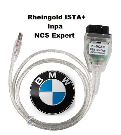Interfata BMW INPA K+DCAN, Inpa 5.06 , Rheingold ISTA D / P v4.01.22