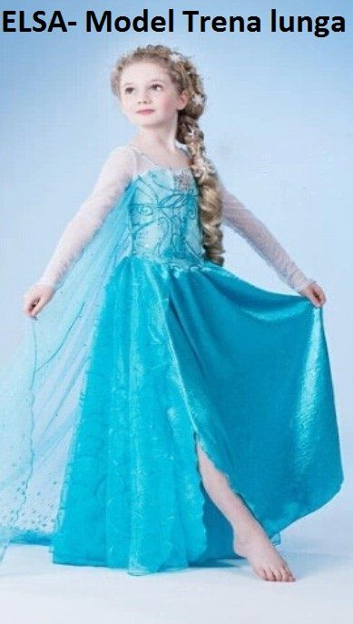 Rochie Elsa pt fetite Rochita printesa Frozen 3, 4, 5, 6, 7 ani Bucuresti - imagine 1