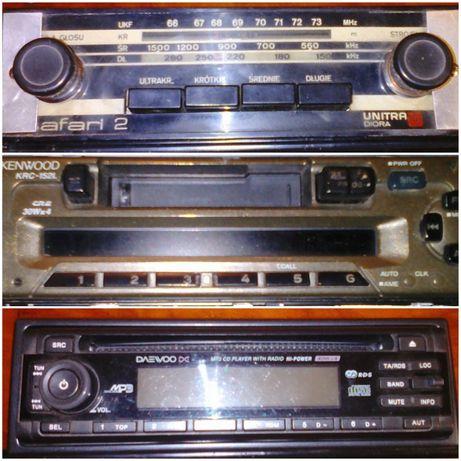 ретро радио за автомобил, касетофон и СД за автомобил
