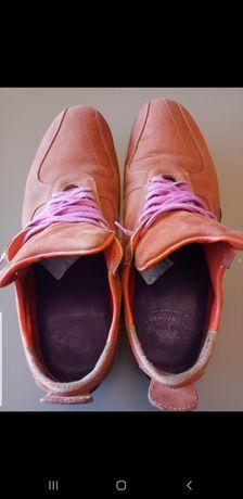 Pantofi sport outdoors, 100% piele naturală, 45
