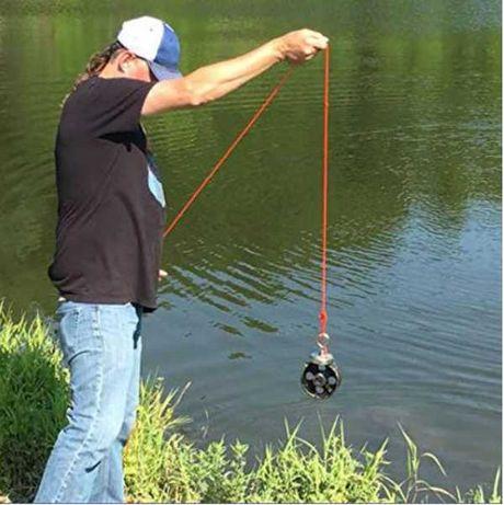 240кг 75mm Магнит за магнитен риболов, с кука (халка) Magnet fishing
