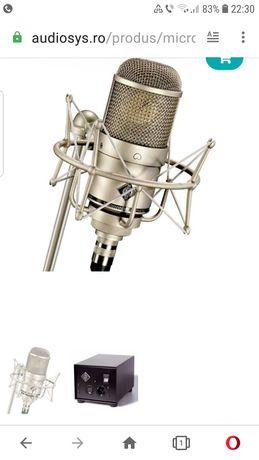 Microfon studio Neumann M-147, ,alimentator, case original,
