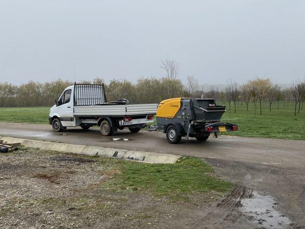 Turnari beton cu pompa stationala