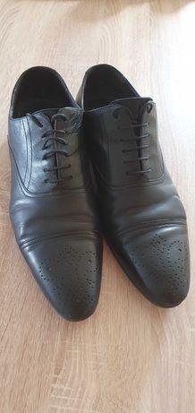 Pantofi din piele naturala, m44
