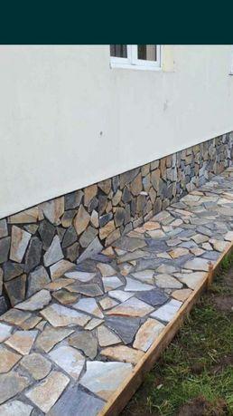 Piatră natura de munte diferite nuante grătare