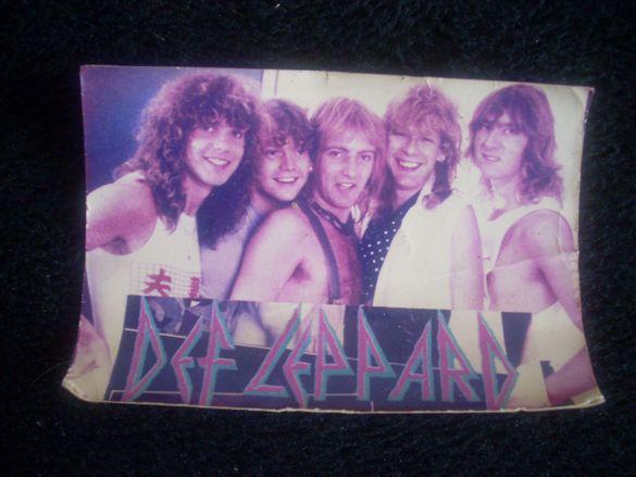 Стара снимка / картичка на Def Leppard