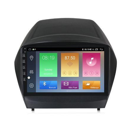 Navigatie Android 10.0 HYUNDAI IX35 / TUCSON 2009+ GPS WAZE 9 inchi