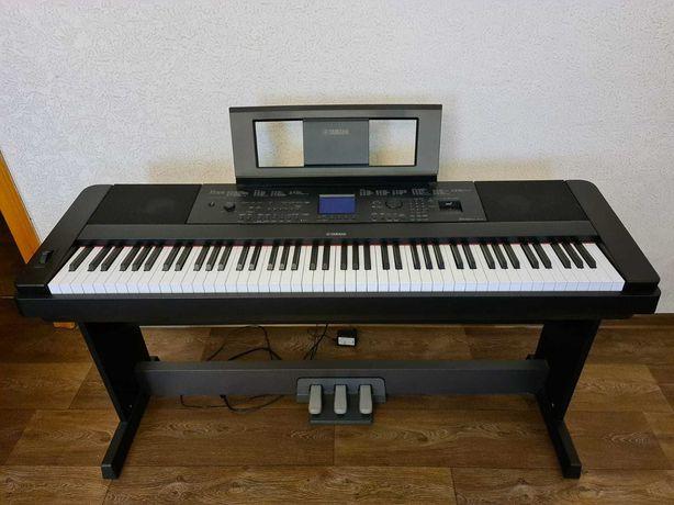 продам цифровое пианино YAMAHA DGX-660 BLACK