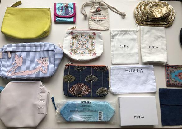 Несесери и плат.торби Sisley cosmetics,Estee Lauder,Furla,Biotherm