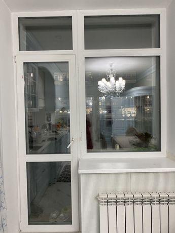 Окно с балконной створкой