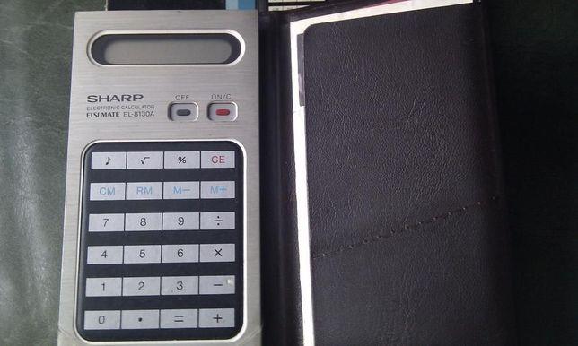 Calculator electronic Sharp -Vintage !