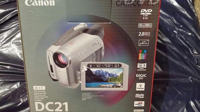 Camera canon dc 21