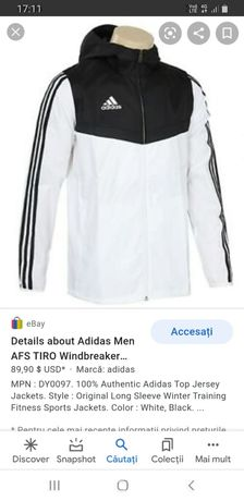 Geaca de fas Adidas originala