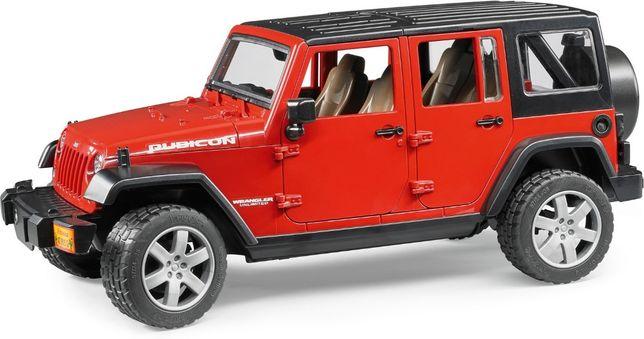 Jucarii Bruder 02525 - Jeep Wrangler Unlimited Rubicon, Bruder