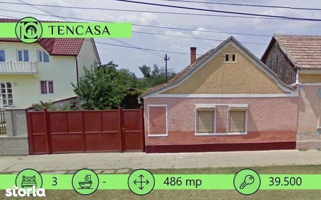 Casa de vanzare cu teren 486 MP, front 14 ML In Sanicolau Mic