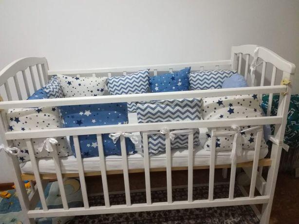 Продам детскую кровать вместе с бортиками