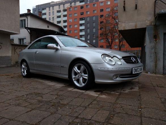 На части Mercedes CLK 270 CDI